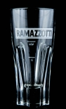 Ramazzotti Glas / Gläser, Likörglas - weiß 2cl/4cl