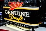 Miller Beer Leuchtreklame, Neonleuchte, Leuchtwerbung 62 x 35 x 10cm USA