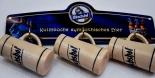 Kulmbacher Minitonkrug, Krug, Bierkrug 3 Stück, Mönchshof Brauerei an Blechaufhängung