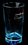 Bombay Sapphire Glas / Gläser, Ginglas, Crushed unten eckig oben rund