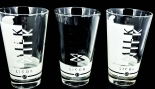 Likör / Licor 43 Glas / Gläser, Milchglas-Set, Latte Macchiato, 3 Stück
