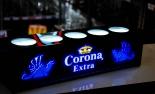 Corona Extra Flaschenleuchte, LED-Licht, Neonleuchte, Leuchtwerbung