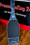 Scavi & Ray Kreidetafel, Werbetafel, Aufsteller in Flaschenform 160 x 38cm