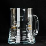 Warsteiner Bier Glas / Gläser, Bierkrug, Henkel Glas 0,4l