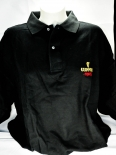 Guinness Beer Polo-Shirt, schwarz