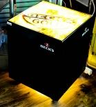 BECKS GOLD TISCH / GLASTISCH MIT BELEUCHTUNG