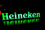 Heineken Bier LED Leuchtreklame, Neonleuchte, Leuchtwerbung LED LRK
