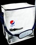 Pepsi Cola Light Kühltasche, Kühlbox, Kühlschrank Optik, faltbar
