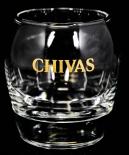 Chivas Regal Glas / Gläser, Tumbler, Whiskeyglas, Gold Smiley Lächelndes Glas