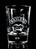 Baileys Glas / Gläser, Tumbler Irish Cream Whiskey Listen to your Lips