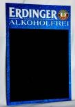 Erdinger Weissbier Kreidetafel, Schreibtafel, Tafel alkoholfrei - 74x 49cm