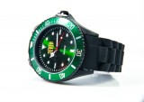 Jever Bier Uhr / Outdoor Armbanduhr, Farbe grün
