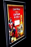 Captain Morgan Bild beleuchtet, LED Display Bilderrahmen, Captain Cola