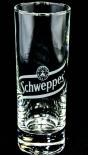 Schweppes Vodka Lemon Glas / Gläser, Longdrinkglas, 0,2l, weisses Logo