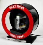 Lucky Strike, LED Karusell Leuchtreklame, Leuchtwerbung rund, drehbar
