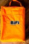 Bifi Picknickdecke / Decke als Tragetasche, 200 x 135cm sehr hochwertig