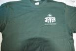 Jever Bier T-Shirt 11 SPORTSFREUNDE Grün Gr. M mit Logo
