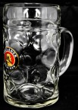 Paulaner Weißbier, Maßkrug, Bierkrug, Krug, Bierglas, Glas, Bier Seidel, 1 Liter