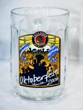 Paulaner Sammelkrug, Bierkrug, Krug, Glas, Maß, Oktoberfest München 2006