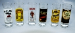 Malibu Rum Glas / Gläser, Shotgläser - 6 Stück Beefeater, Sauza, Kahlua, Long John, Tia