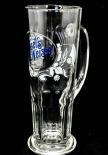 Maisels Weisse Glas / Gläser, Weissbierglas, Weizenbierglas, Trapez Seidel, Reliefschliff 0,5l