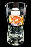 Sinalco Limonade Glas / Gläser, Exclusive Glas 0,3l Orange Relief Glas