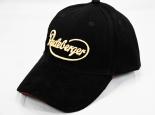 Radeberger Cap, Baseballcap, Mütze, schwarz, Alcantara