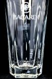 Bacardi Rum Glas / Gläser APS Libbey Cocktail Glas, Longdrinkglas