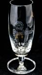 Pilsener Urquell Glas / Gläser Pokal 0,2l Relief Bierglas mit Fußprägung