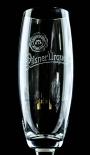 Pilsener Urquell Glas / Gläser Pokal 0,3l Relief Bierglas mit Fußprägung