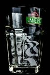 Janeiro Cachaca Glas / Gläser, Cocktailglas, Longdrinkglas, unten eckig oben rund