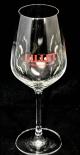 Lillet Aperitif Glas / Gläser, das kleine Aperitif Glas für Lillet Rouge
