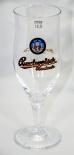 Budweiser Glas / Gläser, Bierglas, Verona Pokal 0,3 l Importeur Strehlow