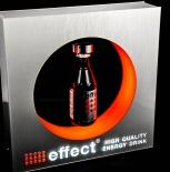 Effect Energy Leuchtreklame, Schwebedisplay, Leuchtwerbung LED