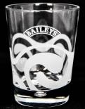 BAILEYS GLAS / GLÄSER, TUMBLER IRISH CREAM WHISKEY Perle und Welle
