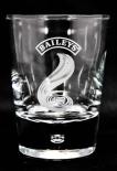 BAILEYS GLAS / GLÄSER, Tumbler IRISH CREAM WHISKEY Perle und Flamme