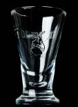 Fernet Branca Glas / Gläser, Shotglas im Relief Design, Stamper, 2cl