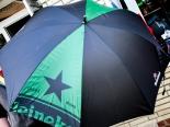 Heineken Beer Regenschirm, 95 x 115cm Durchmesser