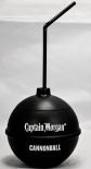 Captain Morgan Becher Cannon Ball mit Strohhalm 10,5 x 10,0cm