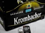 Krombacher Bier HIFI-Soundsystem, Musikanlage im Kasten Design