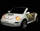 Krombacher Bier VW Beattle HIFI System, LED Beleuchtung