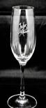 Mumm Sekt Glas / Gläser, Jules Mumm Sektglas, Flöte, 22,6 x 4,6cm