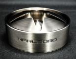 Marlboro Stern Aschenbecher Design Voll-Edelstahl, massiv