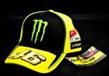 Monster Energy Cap, Baseballcap, Mütze,  Valentino Rossi Yamaha 46 VR/46
