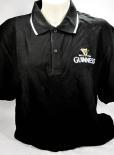 Guinness Beer Brauerei, Bier, Herren Polo Shirt, schwarz, Gr. L
