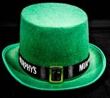 Murphys Beer, Bier, St.Patricks Zylinder, Hut, grün 30 x 14cm