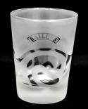 Baileys Irish Cream Whiskey Tumbler, matt satiniert, Welle