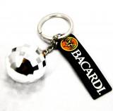 Bacardi Rum, Fledermaus Schlüsselanhänger Discokugel