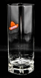 Sierra Tequila Longdrink Glas, Cocktailglas 0,2l rechteck