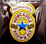 Newcastle Brown Ale, Beer, Bier Blechschild, Werbeschild, Brown